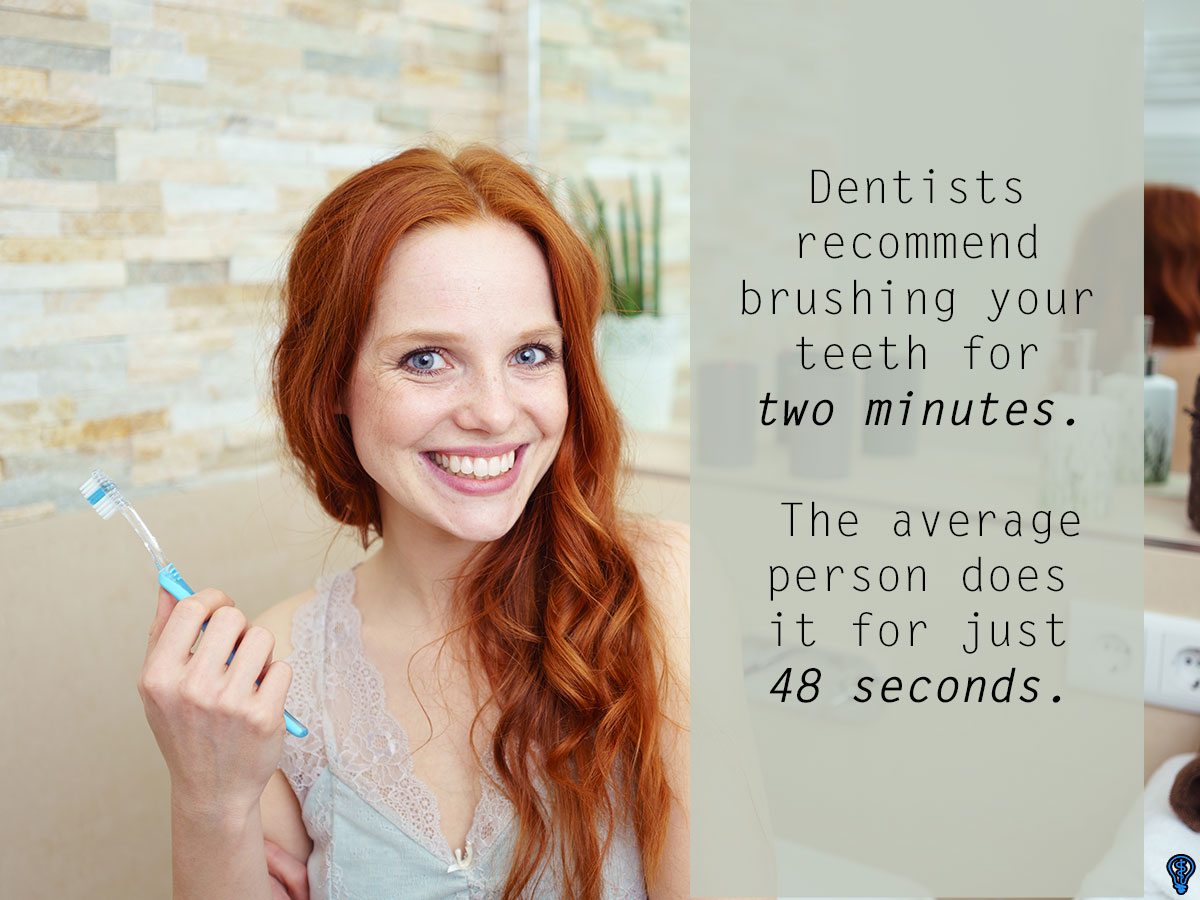 Don&#    ;t Skip Brushing Your Teeth Twice A Day